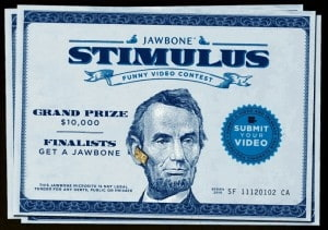 Jawbone Stimulus Funny Video Contest