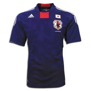 Japan's 2010 home jersey
