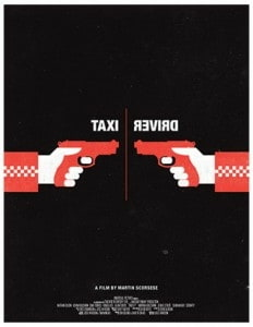 Taxi Driver by Olly Moss