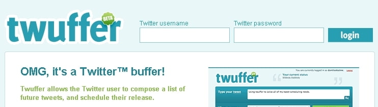 Twuffer screenshot