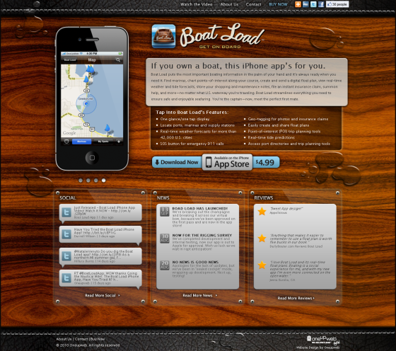 Boat Load iPhone App Oneupweb Reviews