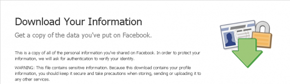 How To Download Your Facebook Info Oneupweb Straight Up Social