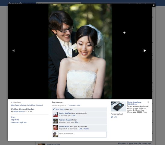 Facebook Improves Photo Viewer Oneupweb Reviews