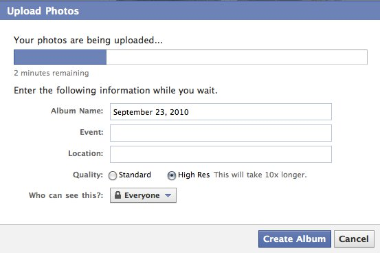 Facebook Improves Tagging and Uploading Oneupweb Reviews
