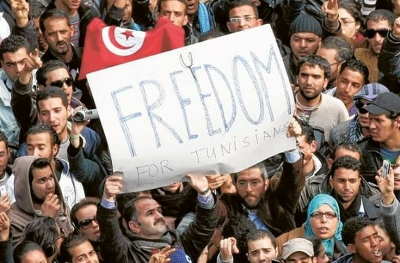 Freedom Tunisia Social Media revolution