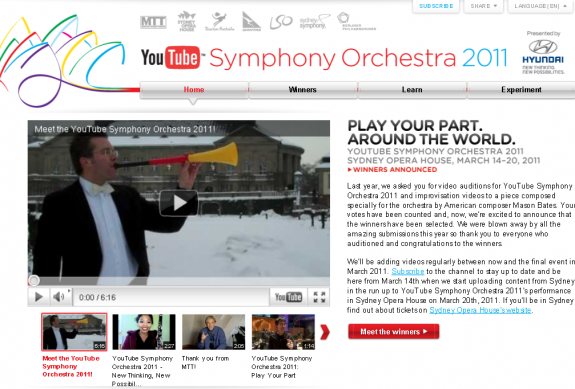 YouTube Orchestra Oneupweb Straight Up Social