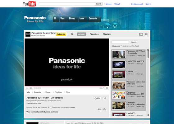 YouTube.com/panasonic