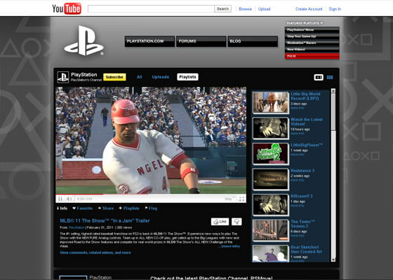 YouTube.com/playstation
