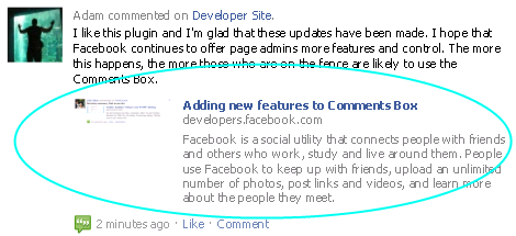 Oneupweb Facebook Comments Update
