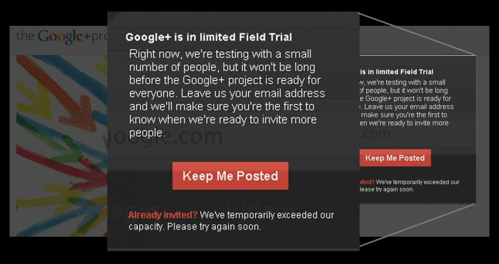 Google + Keep Me Posted Oneupweb