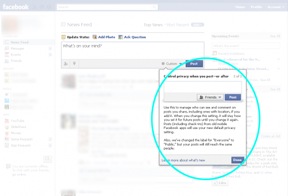 Facebook Privacy Settings Tour Oneupweb