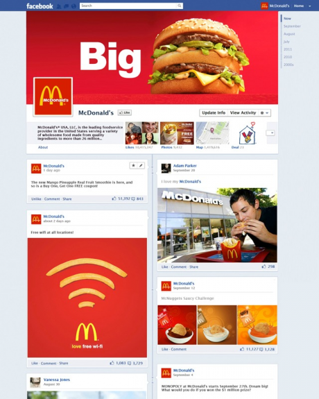 Facebook Timeline Brand Pages Oneupweb