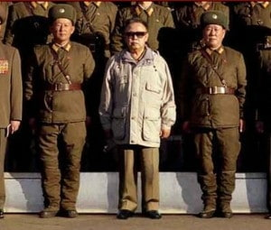 North Korea Photoshops Kim Jong-il