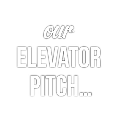 Our Elevator Pitch...
