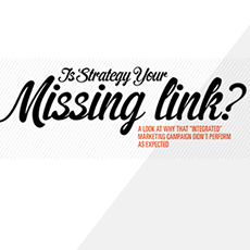 Is Strategy Your Missing Link?