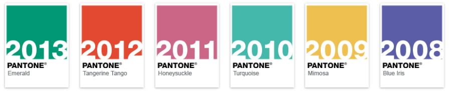 Pantone_Color-Through-the-years