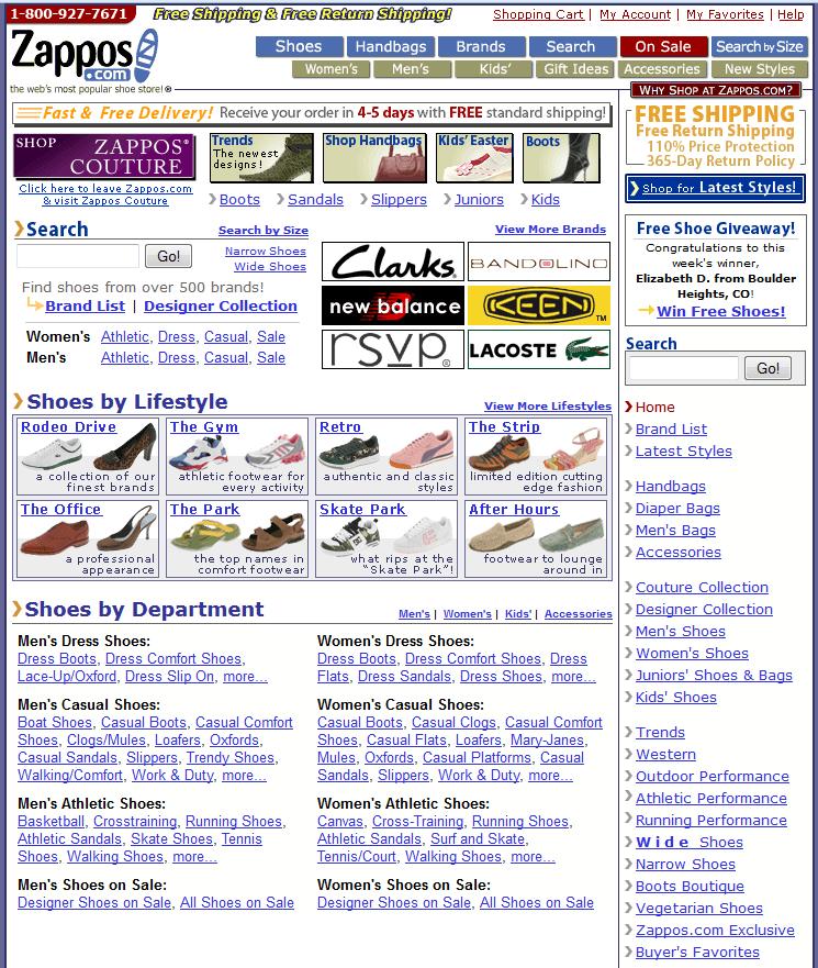 Zappos 2006