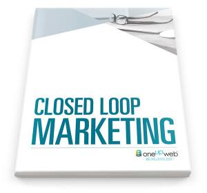 Cover of Closed Loop Marketing Paper