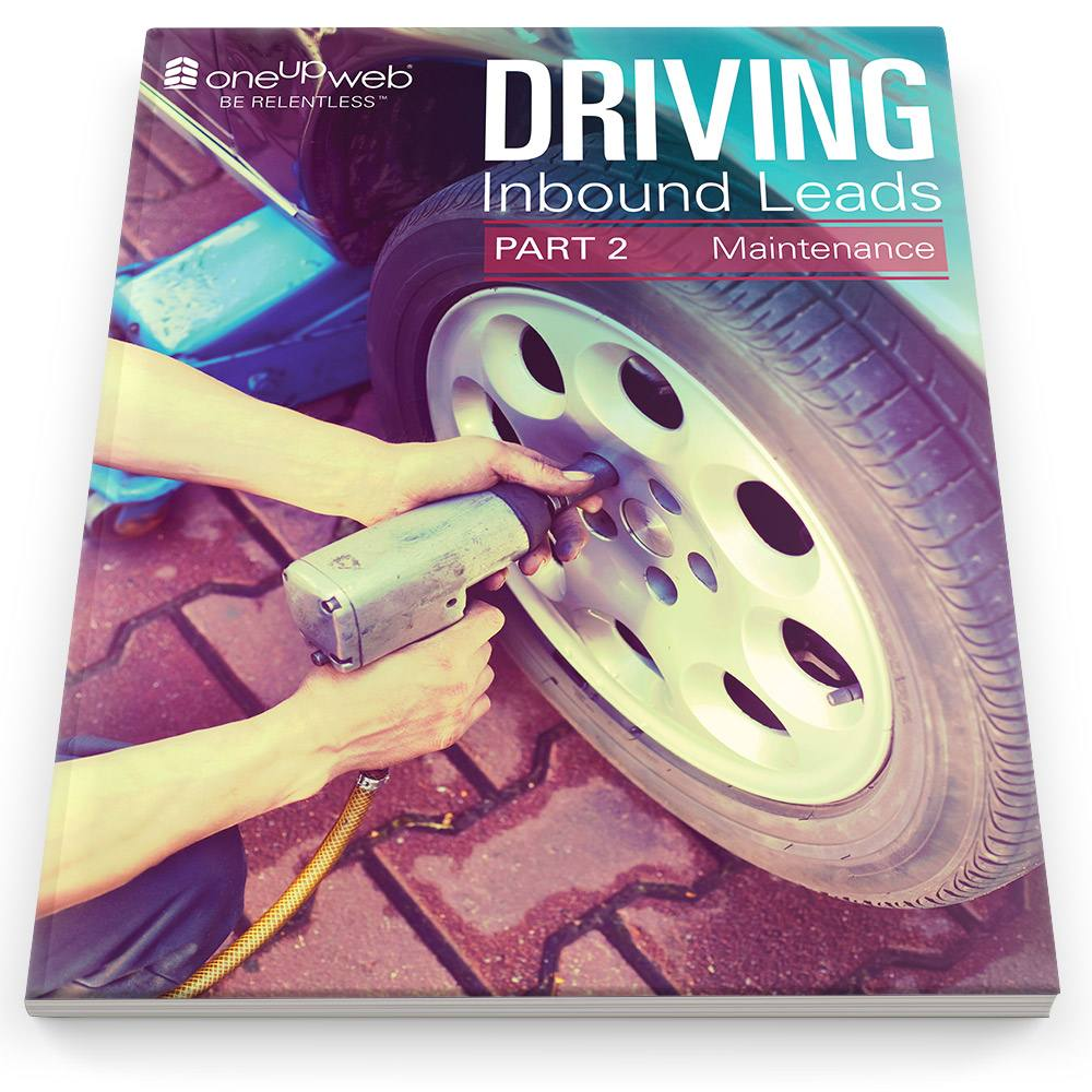 Inbound Marketing requires regular pit stops