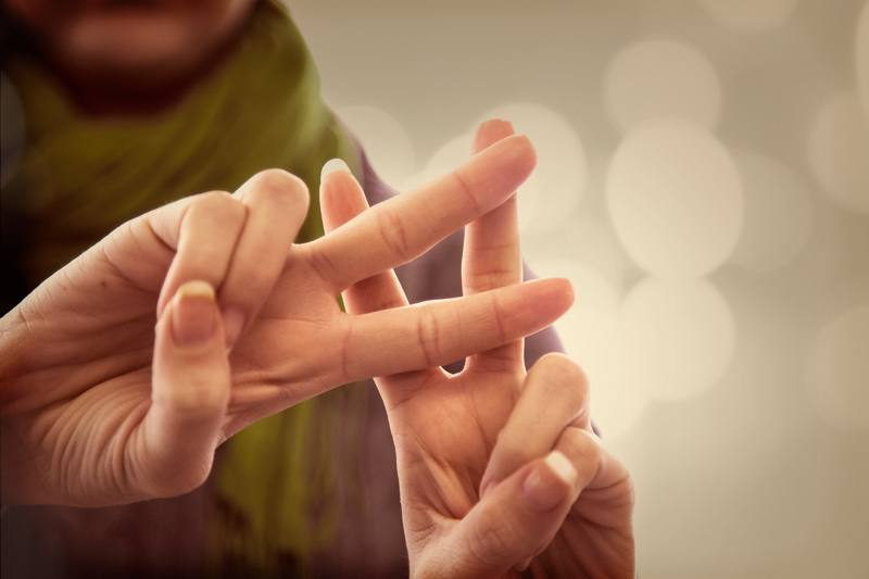 Cover image for blog post of a person making the hashtag sign