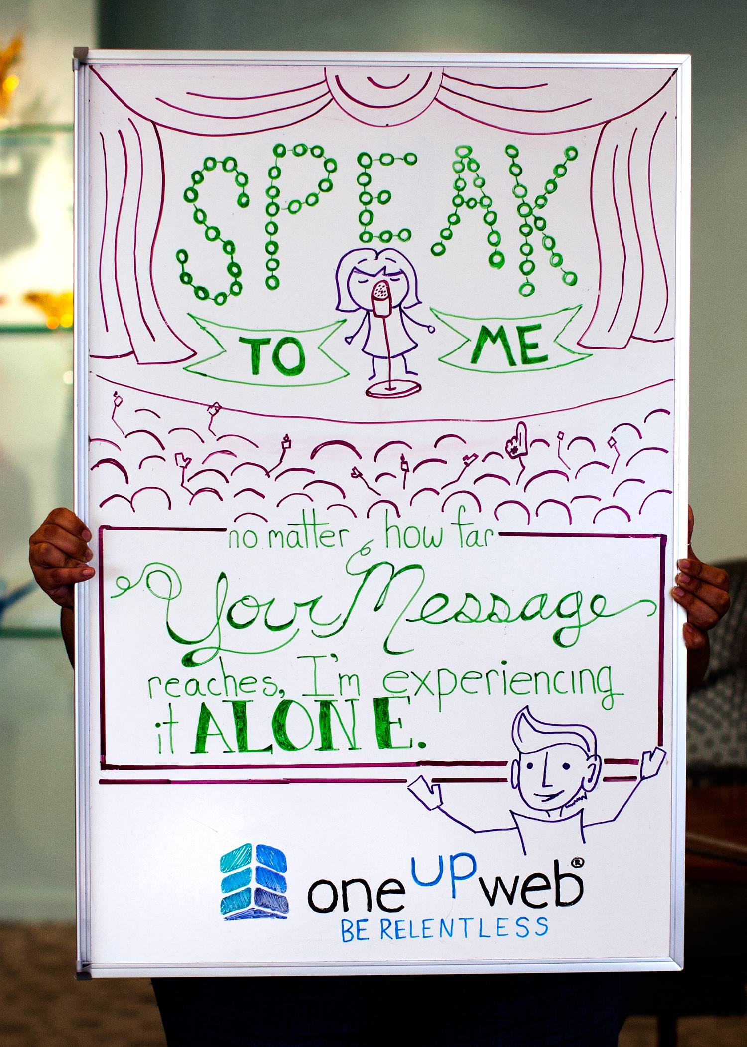 Tip of the week: Speak to Me; No Matter How Far Your Message Reaches, I'm Experiencing It Alone