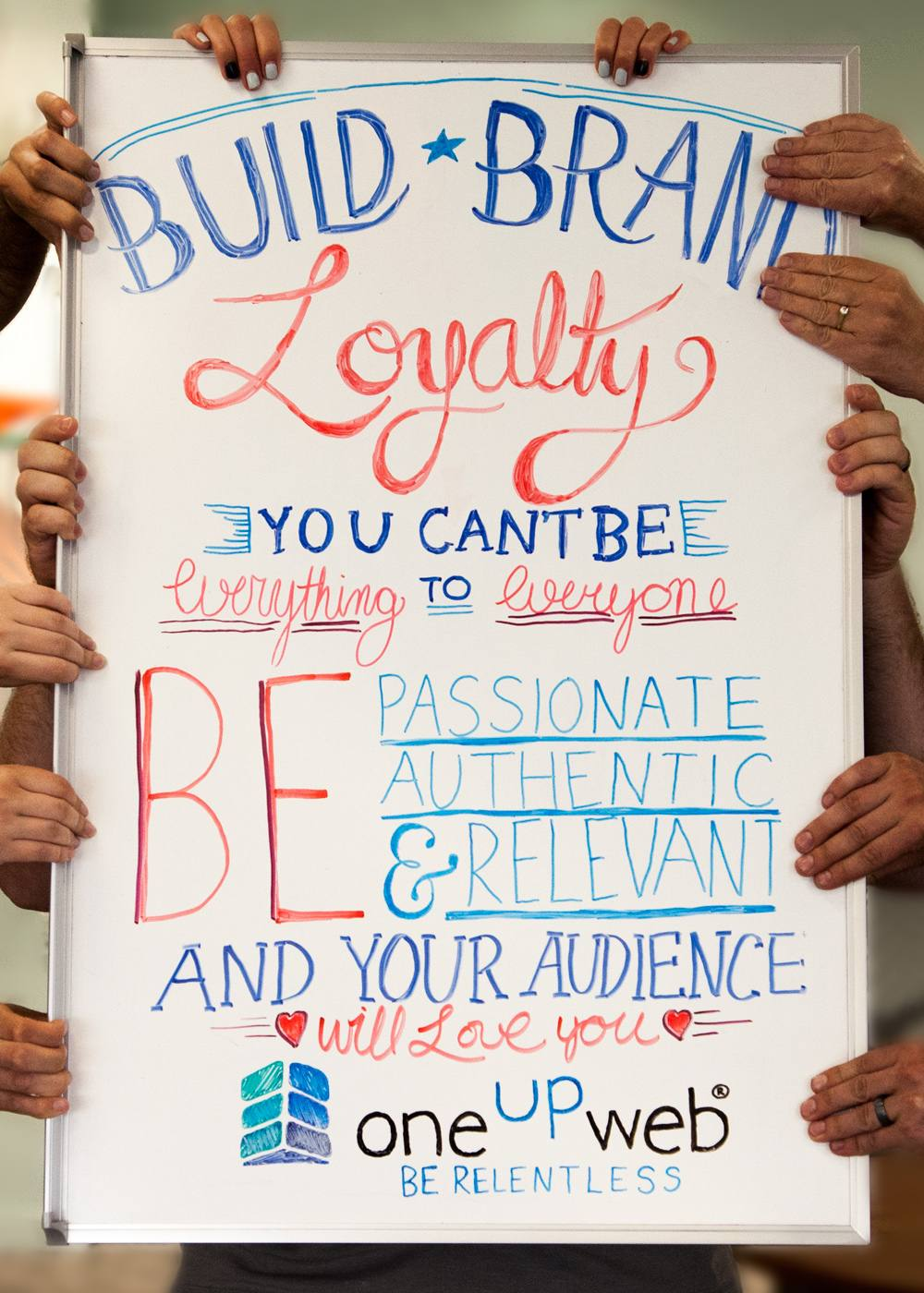 Tip of the Week: Build Brand Loyalty. You cant be everything to everyone