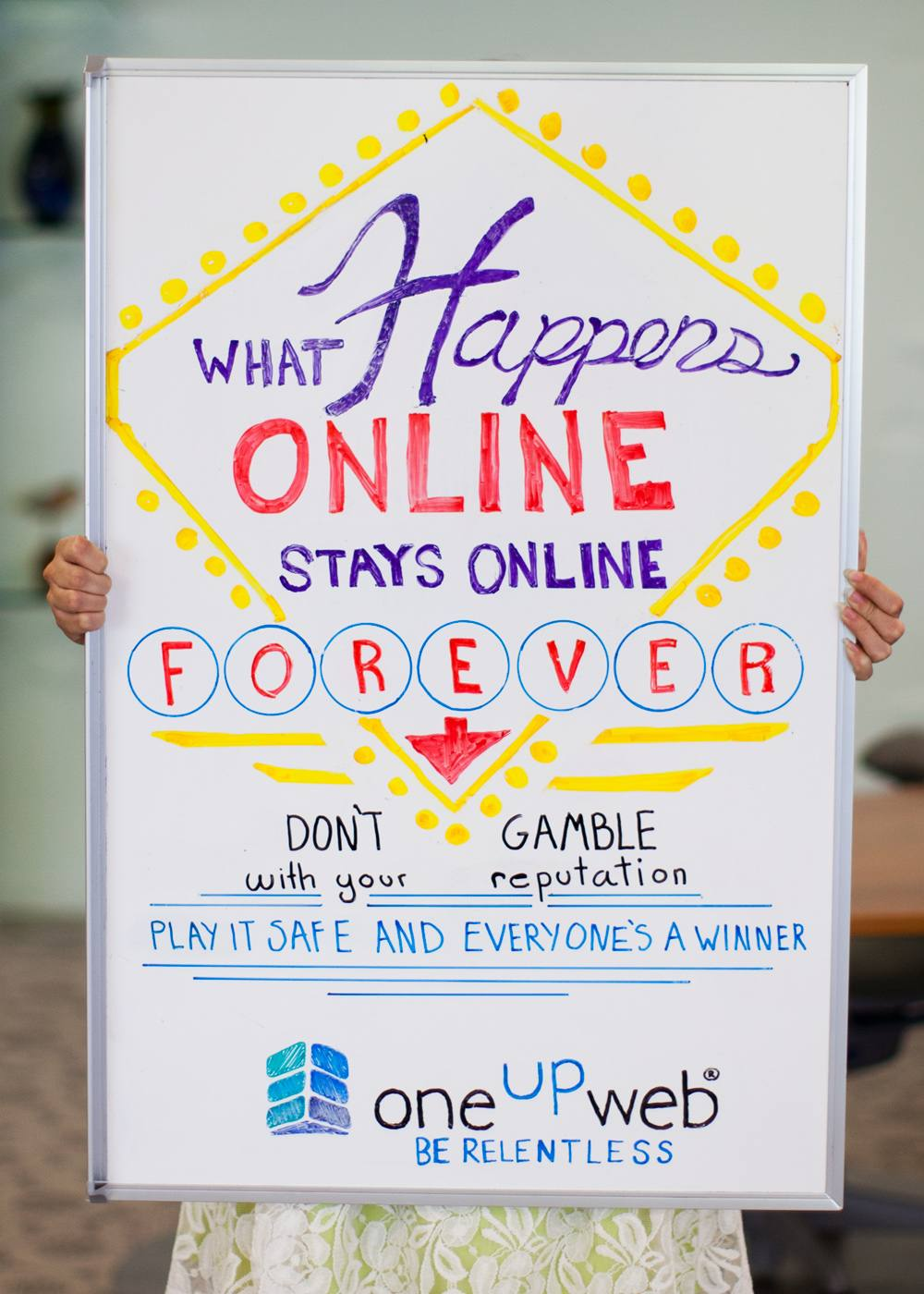 What happens online, stays online forever