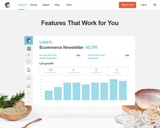 MailChimp—Streamline the Design