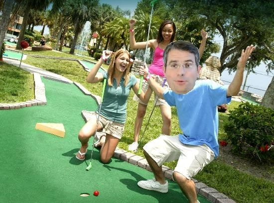 matt cutts mini golf
