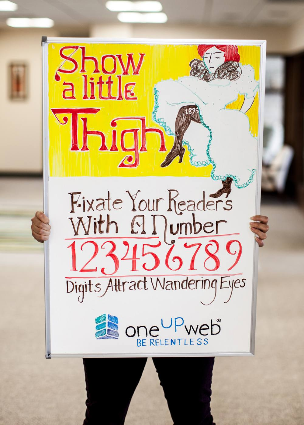 Marketing Tip of the Week: Digits Attract Wandering Eyes
