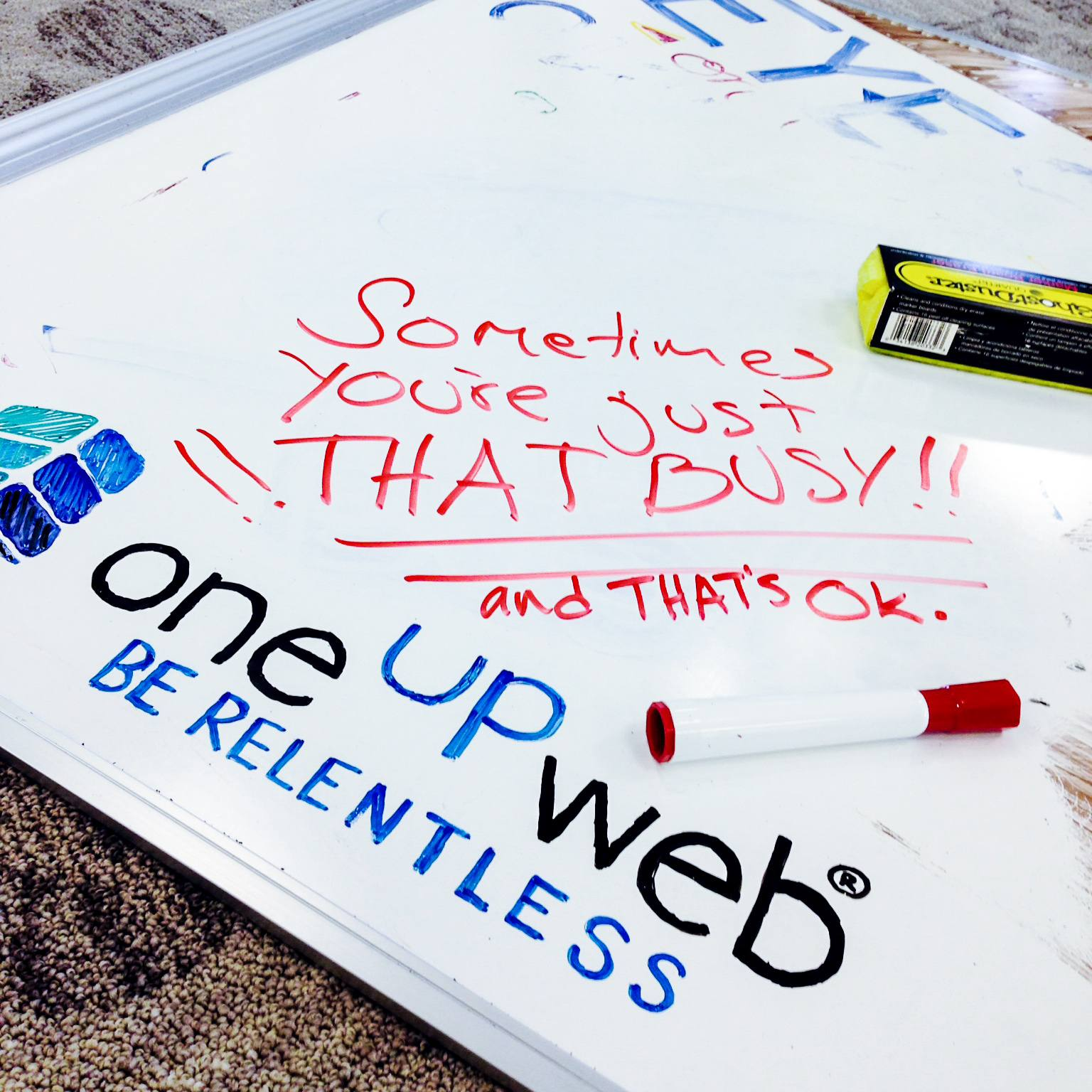 Oneupweb Tip of the Week: Sometimes You're Just That Busy