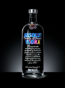 Andy Warhol Absolut Bottle