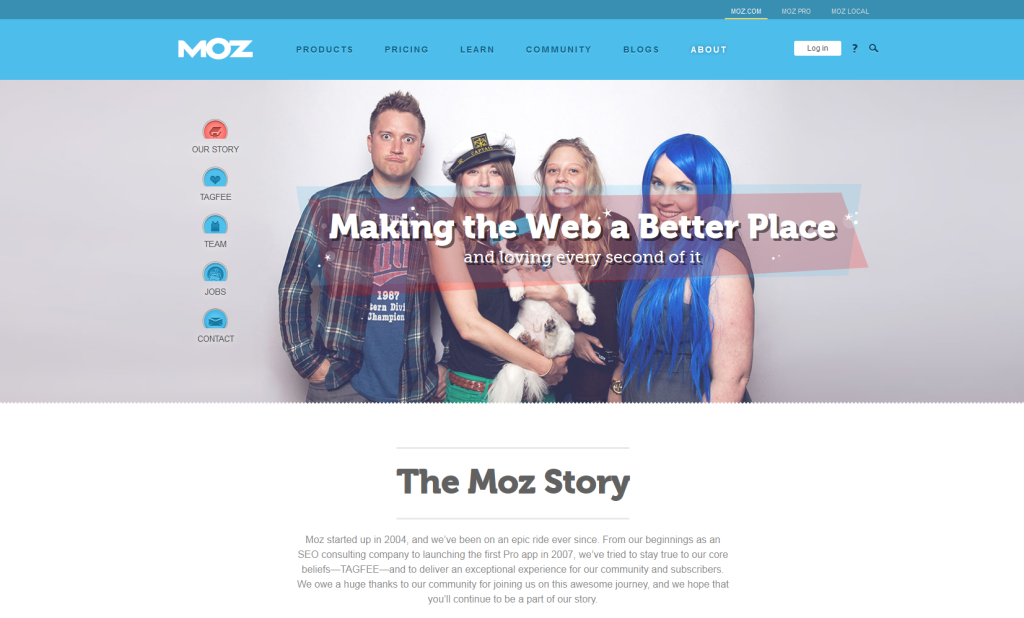 About Moz