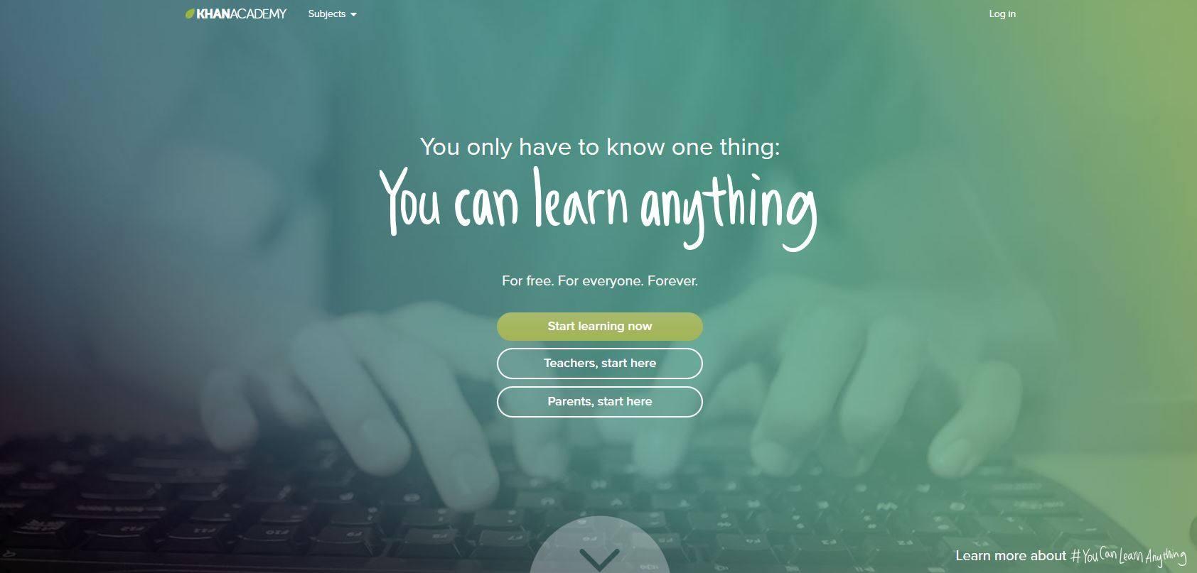 Khan-Homepage