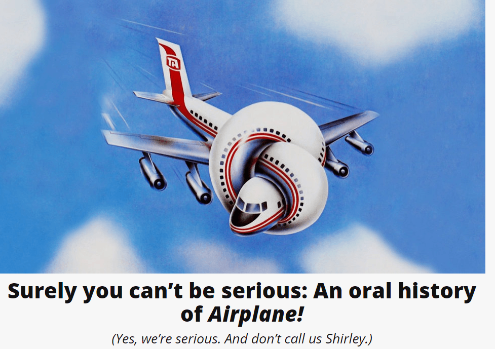 Oral history of Airplane!