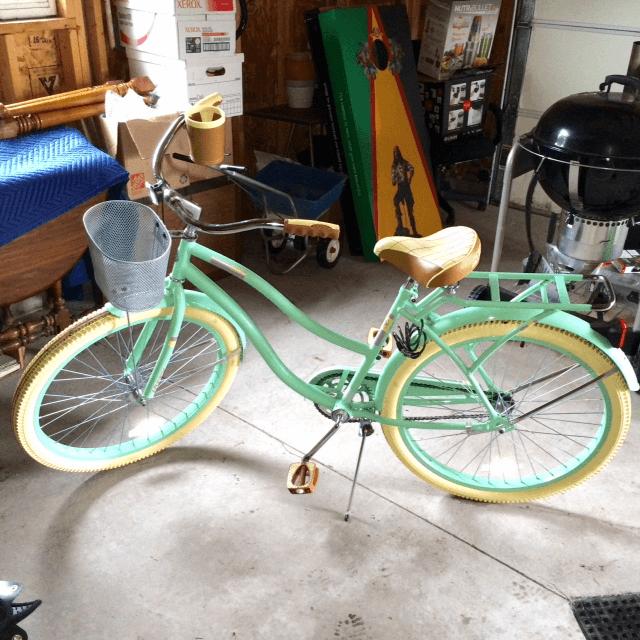 Teighlor's bike