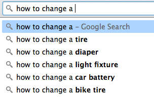 google autocomplete how to change diapers