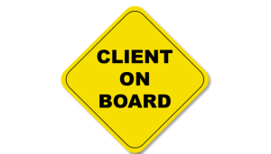 client on board