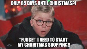 holiday shopping meme