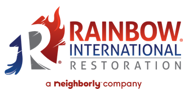 Rainbow international restoration. A Neighborly company.