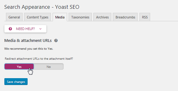 Yoast SEO bug fix