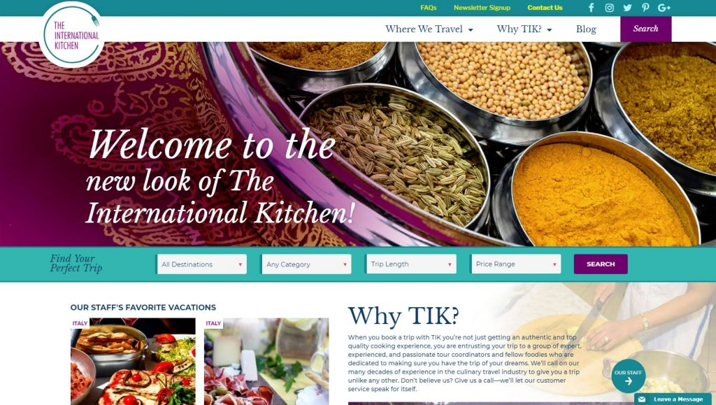 The International Kitchen
