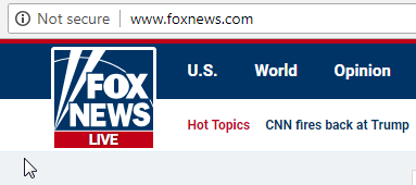 fox news not secure