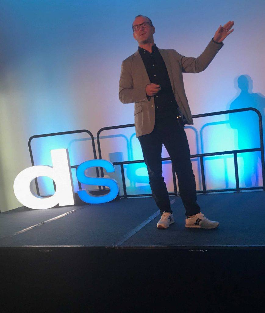 freddy hunt presenting at digital summit detroit