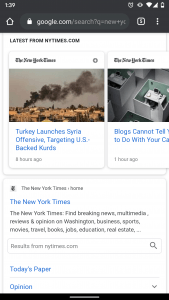 amp case study new york times search