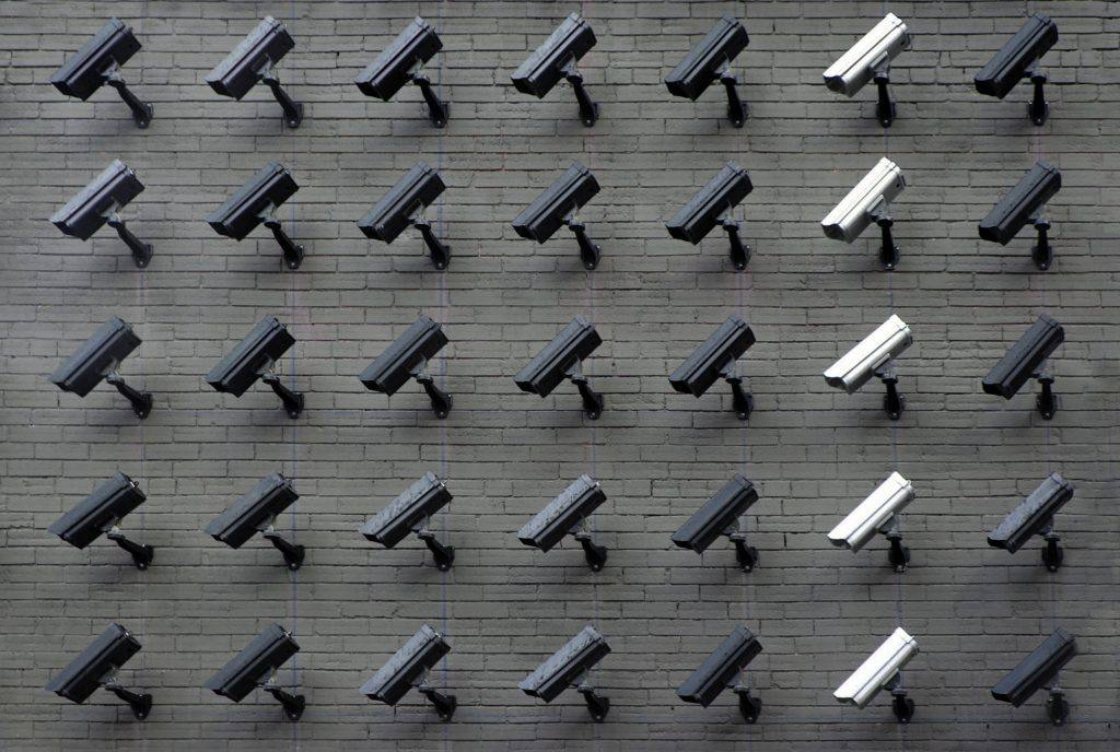 cameras on a building to illustrate california consumer privacy act