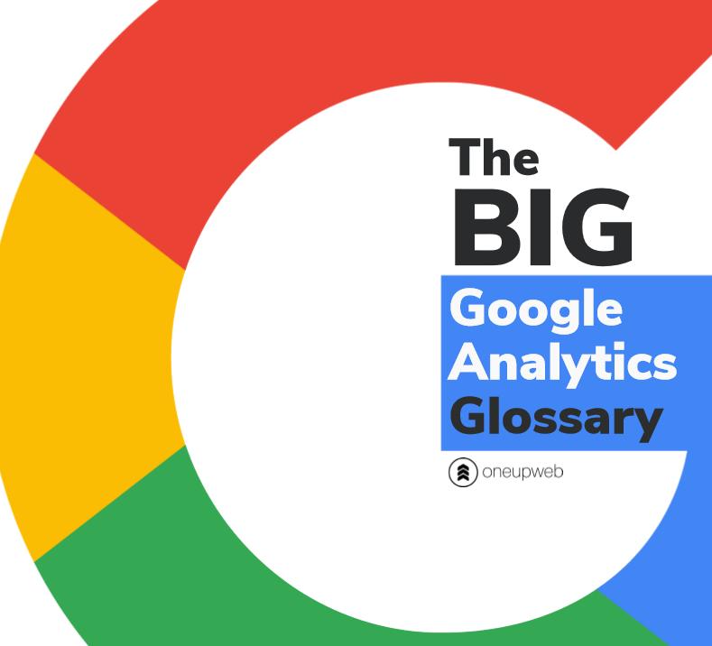 google analytics glossary