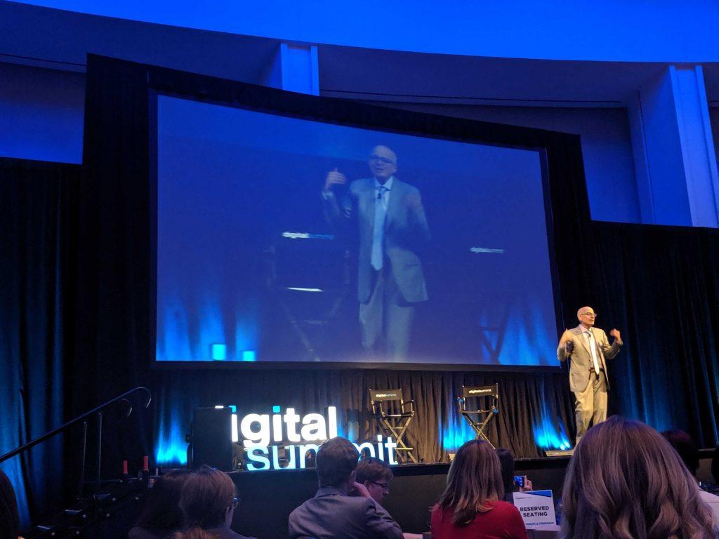 seth godin speaking at digital summit detroi