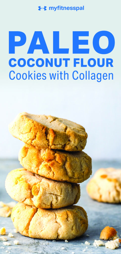 social media image of cookies for a myfitnesspal recipe