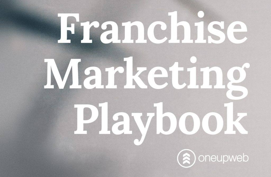 """The title of the guide is """"franchise marketing playbook"""""""